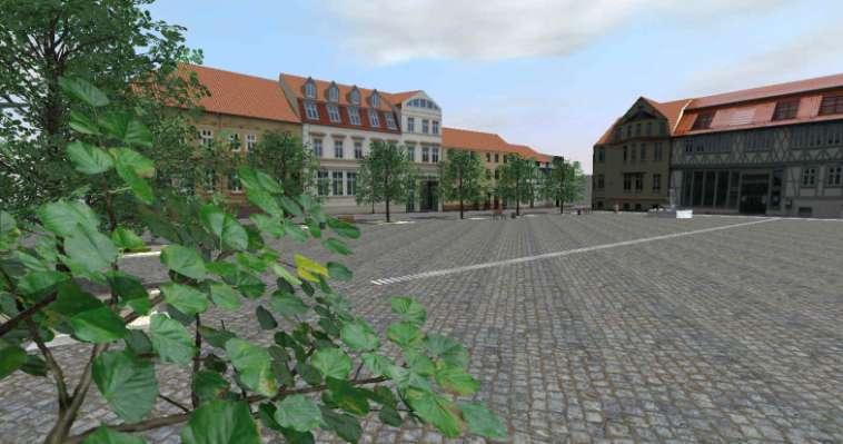 Stadtplanung-3D-Visualisierung-Stadtmodell-Haldensleben