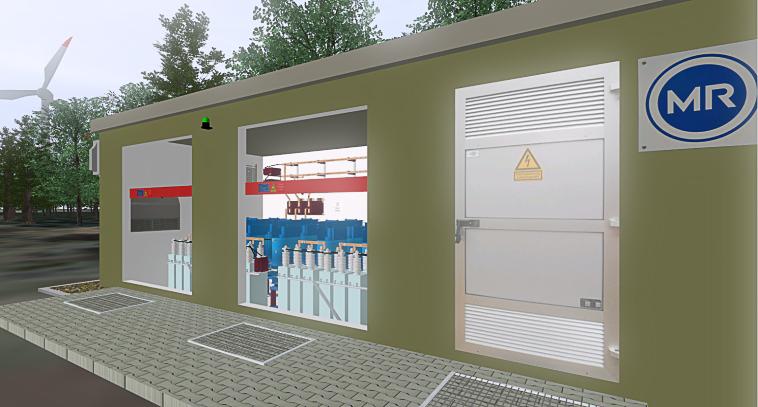 Bearbeiten 3D-Anlage_Mittelspannung_Station_außen_3D-Projekt
