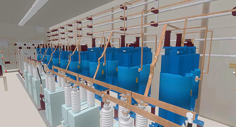 3D-Anlage_Mittelspannung_innen_3D-Projekt