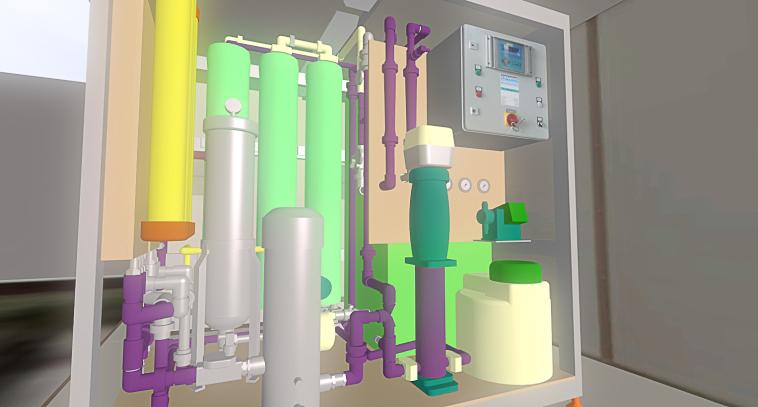 3D-Anlage_Wasseraufbereitung_3D-Projekt