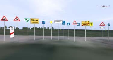 3D-Symbolbibliothek-Verkehrszeichen-STVO