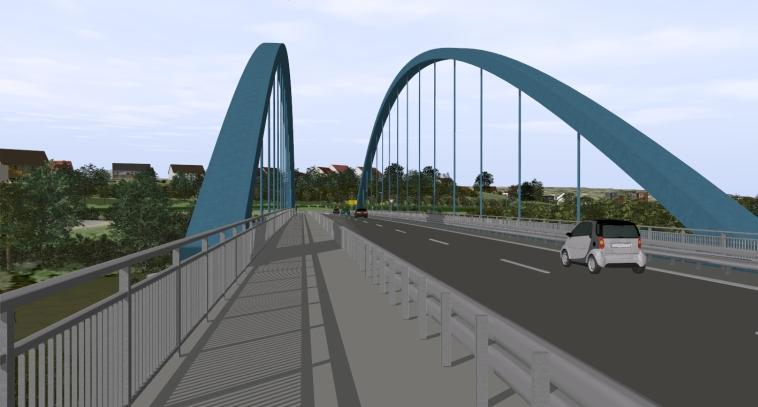 Brückenvisualisierung