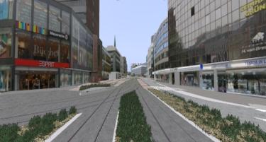 Dynamische 3D Stadtplanung und Simulation