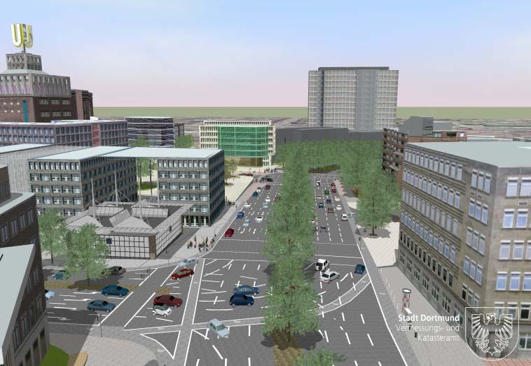 Stadtplanung-3D-Visualisierung-Dortmund