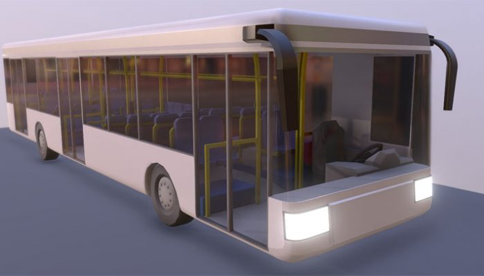 Stadtbus 3D-Modell download