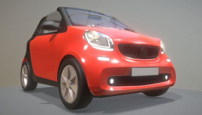 Smart Fortwo 3D-Modell download