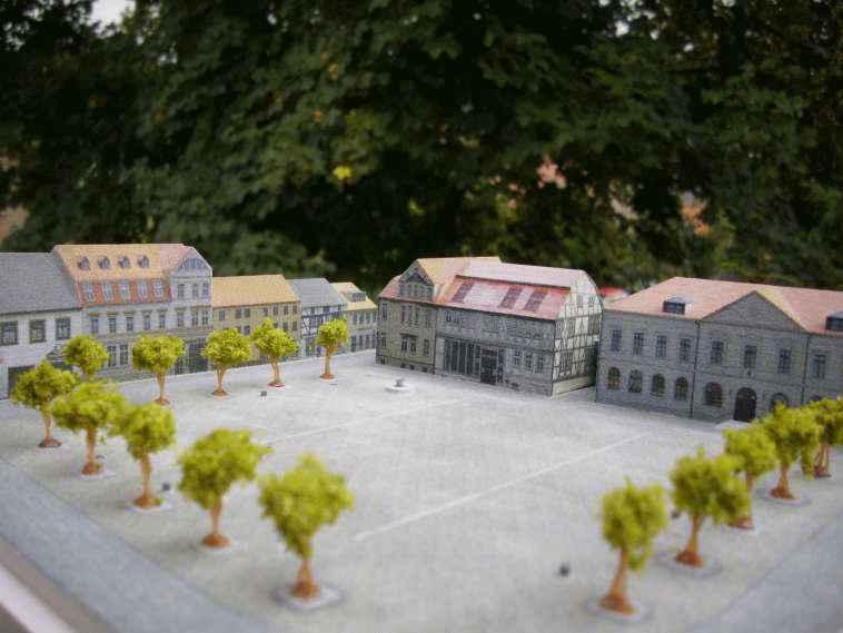 Stadtmodell-haptisches-Modell