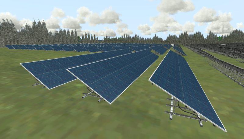 Solarfreiflächenanlage