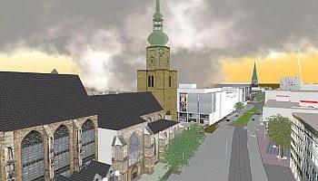 3D Architekturvisualisierung und Stadtplanung: Dortmund