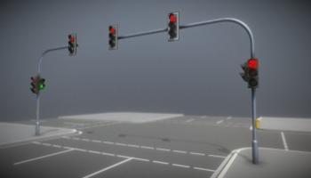 3D Modelle Verkehrszeichen und Einrichtungen