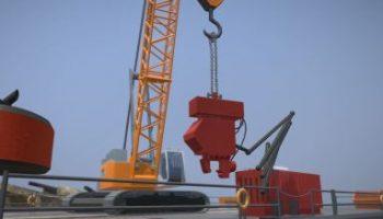 Detaillierte 3D-Modelle von Baufahrzeug.