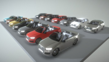 Audi 3D models for download
