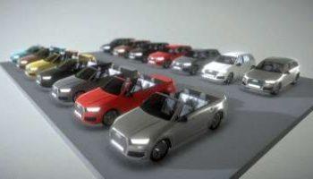 Audi 3D models for download
