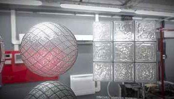Neue 3D Textur-Kolektion: Glas-Block