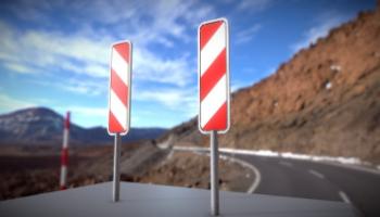 3D-Modelle Verkehrseinrichtungen und Verkehrszeichen nach StVO
