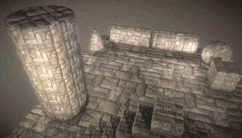 3D Textur-Kolektion: Steinmauer