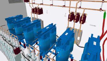 Professionelle 3D Industrievisualisierung von komplexen Anlagen und Maschinen