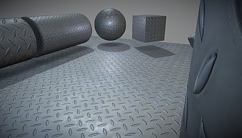 Metal textures for 3D designers