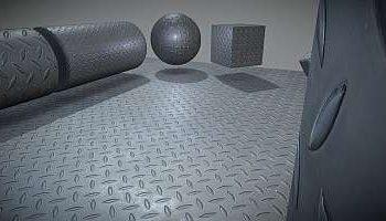 Metal textures for 3D designers