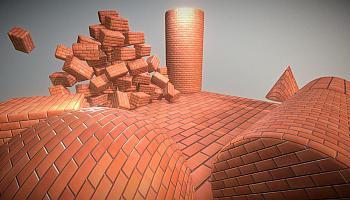 Neue Kollektion von 3D-Texturen: Ziegel