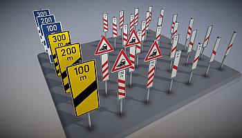 3D-Modelle Verkehrszeichen nach StVO