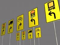 Verkehrszeichen-Umleitungsschilder-3d-Modell-download-3