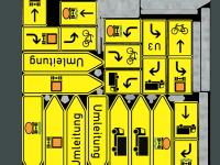 Verkehrszeichen-Umleitungsschilder-3d-Modell-download